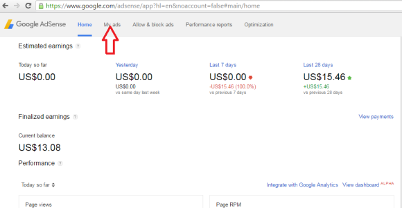 Google Adsense Code Ko WordPress Me Kaise Add Kare