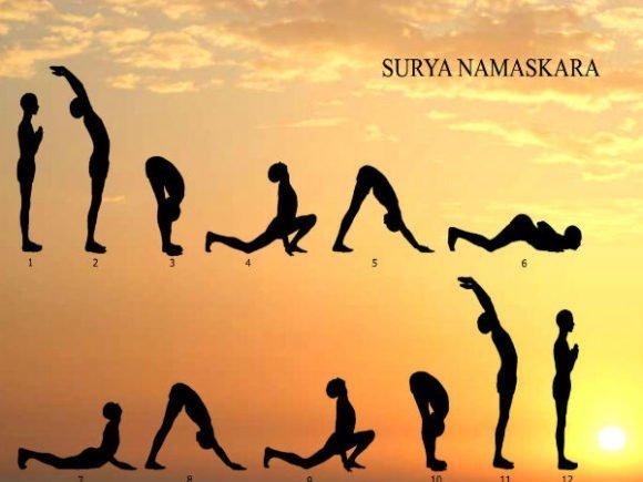 Surya Namaskar Yoga Kaise Kare Aur Isake Fayde - सूर्य नमस्कार कैसे करे और फायदे