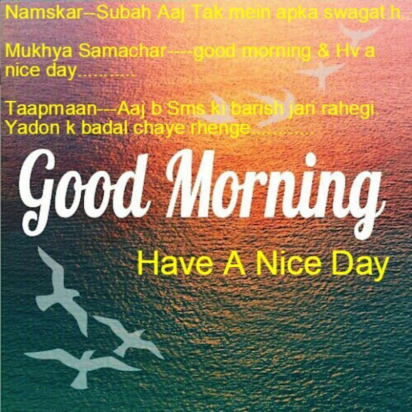 Good Morning Love Messages for Boyfriend in Hindi