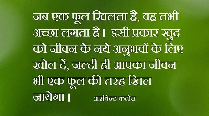 Quotes On Experience in Hindi