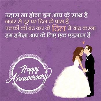 Happy Anniversary SMS in Hindi for Mom-dad