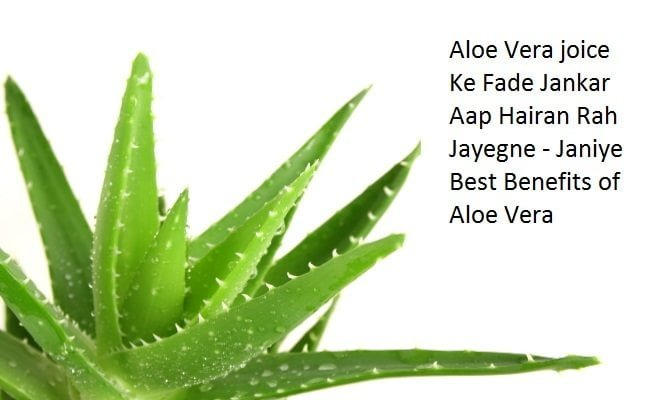 Aloe Vera Juice Ke Fayde - एलोबेरा के फायदे aloe vera benefits for face in Hindi