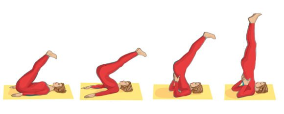 Sarvangasana Steps and Benefits in Hindi