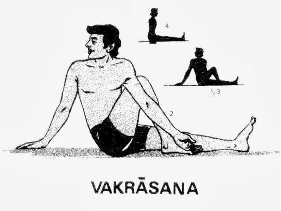 Vakrasana Yoga Kaise Kare Iske Fayde